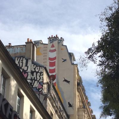 Tout en haut, Paris XII
