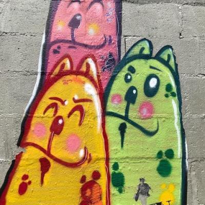 A Porto, Street art signé Costah